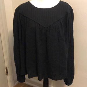 Universal Thread Womens XXL Shirt Round Neck Black
